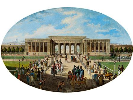 Wiener Vedutenmaler des beginnenden 19. Jahrhunderts