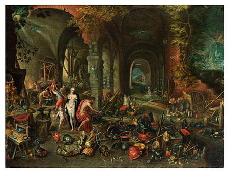 Jan Brueghel d.J., 1601 Antwerpen - 1678 ebenda, Nachfolge