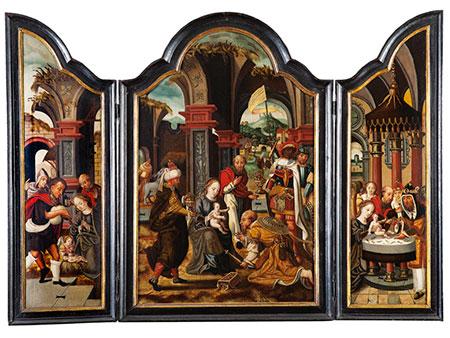 † Pieter Coecke van Aelst, 1502 Aalst – 1550 Brüssel, Umkreis
