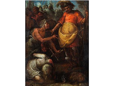 """Giovanni Battista Crespi,genannt """"Il Cerano"""",1575 Cerano – 1633 Mailand, zug."""