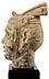 Detail images: Kopf eines Kriegers