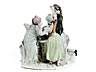 Detail images: Porzellanfigurengruppe des 18. Jahrhunderts