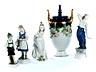 Detail images: Konvolut von 21 Porzellanfiguren und einer Deckelvase von Rosenthal