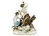 Detail images: Meissener Porzellanfigurengruppe