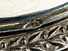 Detailabbildung: Paar silberne Senfgefäße