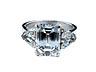 Detailabbildung: Diamant-Emailring