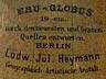 Detail images: Tischglobus von Ludwig Julius Heymann, Berlin