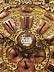 Detail images: Seltene große Münchner barocke Wandhängeuhr