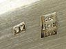 Detail images: Russische Deckeldose in Silber