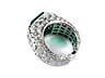 Detail images: Smaragd-Diamantring von Bulgari