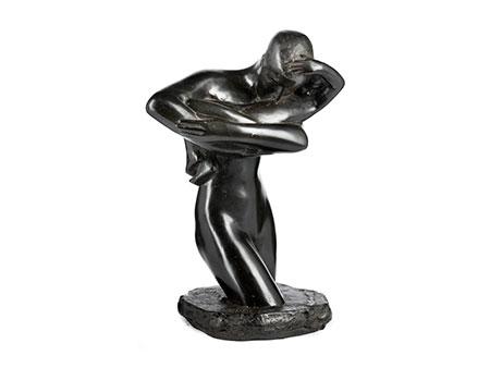 Georges Minne,  1866 Gent – 1941 Sint-Martens-Latem Belgischer Bildhauer des Symbolismus.