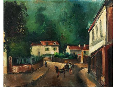 Maurice de Vlaminck, 1876 Paris – 1958 Ruell-la-Gadelière