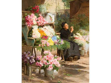 Victor Gabriel Gilbert,  1847 Paris – 1935 ebenda