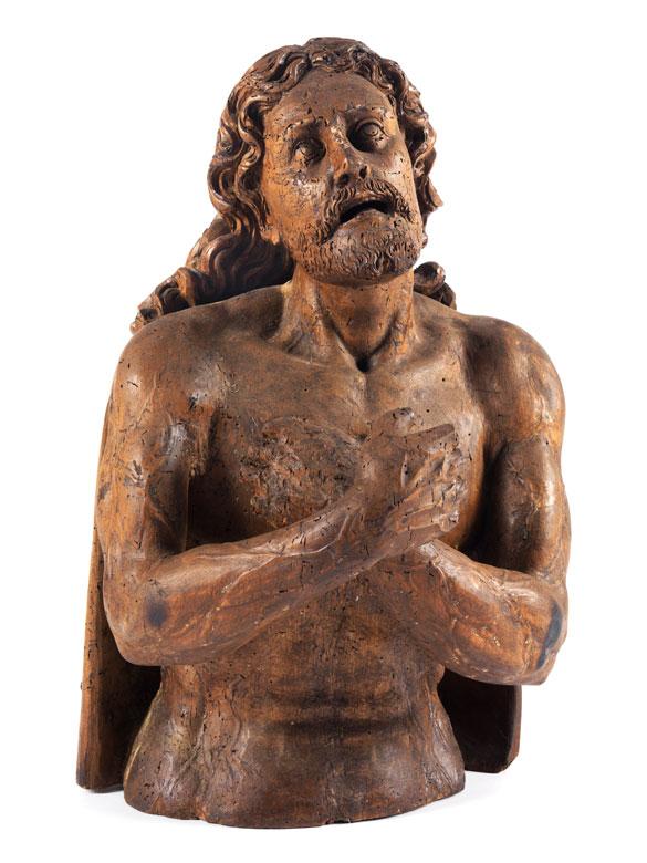 Büste gegeißelter Christus
