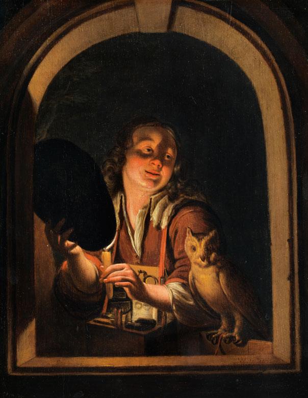 Willem van Mieris, 1662 Leiden – 1747 ebenda, Sohn des Frans van Mieris d. Ä.