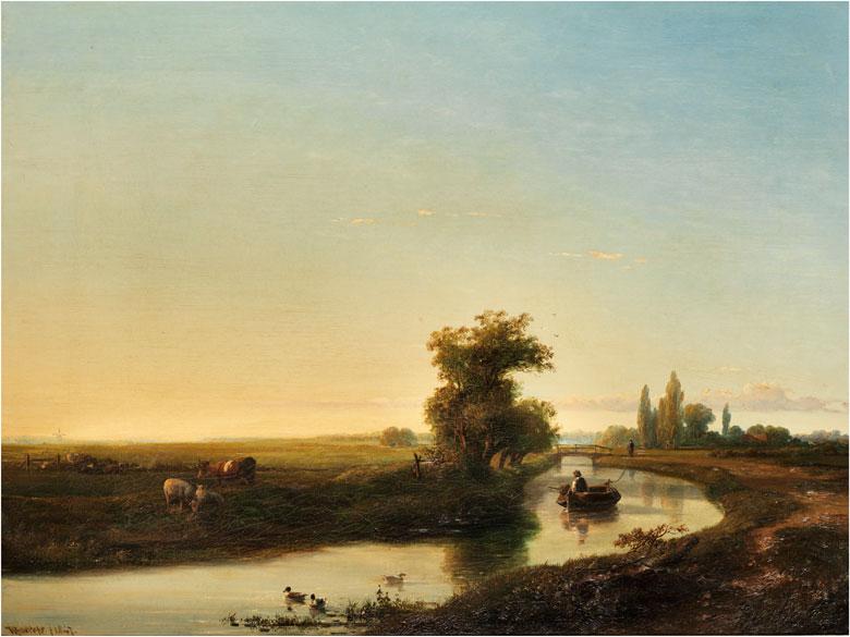 Willem Roelofs, 1822 Amsterdam – 1897 Berchem