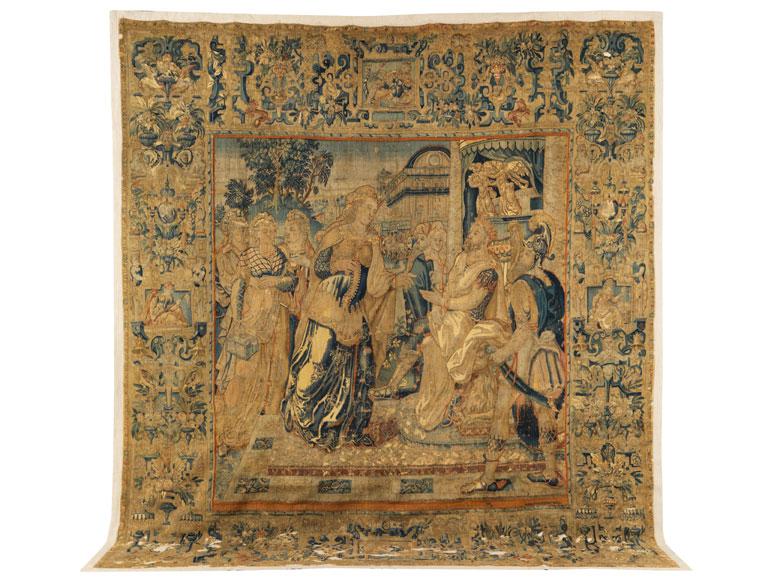 Große Bildtapisserie des ausgehenden 16. Jahrhunderts