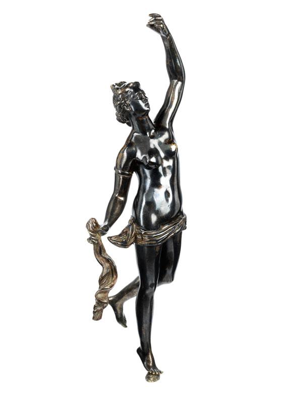 Bronzestatuette einer Fortuna
