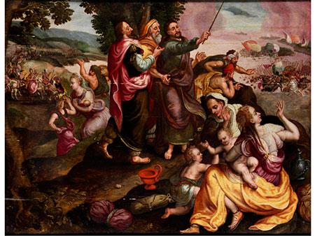 Marten de Vos, 1532 – 1603, zug.