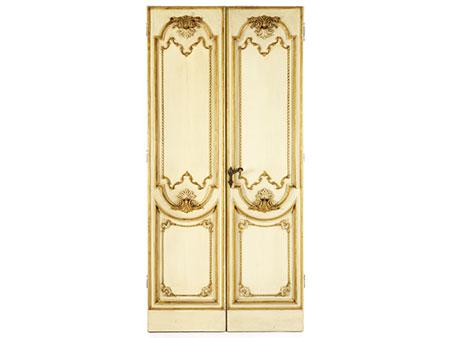 Zweiflügelige Barock-Tür