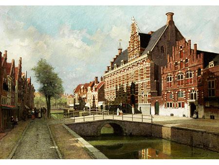 Johannes Christiaan Karel Klinkenberg, 1852 Den Haag – 1924 ebenda