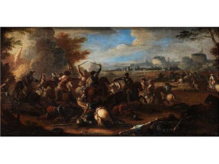 """Jacques Courtois, genannt """"Il Borgognone"""", 1621 – 1676, Umkreis des"""