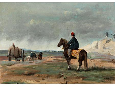 Jean-Baptiste Camille Corot, 1796 Paris – 1875 ebenda