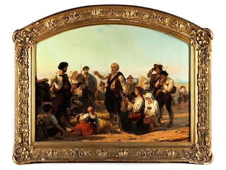 Charles Soubre, 1821 Liège - 1895 ebenda