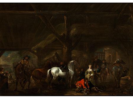 Pieter Wouwerman, 1623 Haarlem – 1682 Amsterdam, zug.