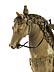 Detail images: Elfenbein-Schnitzfigur Bartolomeo Colleoni (um 1400 – 1475) zu Pferde