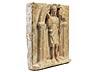 Detail images: Steinrelief mit Darstellung des Heiligen Johannes Baptist