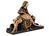 """Detail images: Bedeutende museale Schnitzfigurengruppe einer """"Pietá"""""""