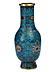 Detail images: Cloisonné-Vase