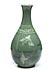 Detail images: Koreanische Seladon-Vase mit Kranichen
