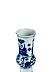 Detail images: Große blau-weiße Vase