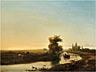 Detailabbildung: Willem Roelofs, 1822 Amsterdam – 1897 Berchem