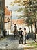 Detailabbildung: Cornelis Springer, 1817 Amsterdam – 1891 Hilversum