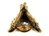 Detail images: Vergoldete Tischaufsatz-Bronzefigur