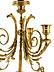 Detail images: Paar elegante Louis XVI-Kandelaber