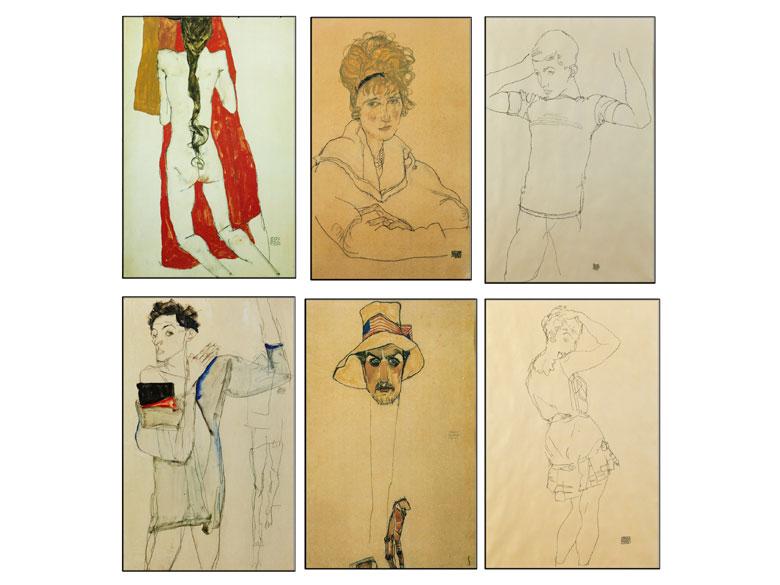 Egon Schiele, 1890 Tulln – 1918 Wien, nach