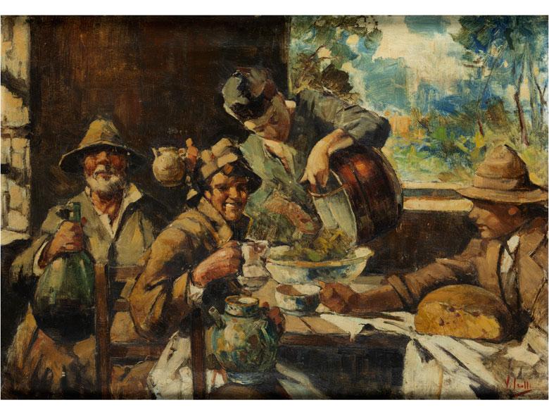 Vincenzo Irolli, 1860 Neapel – 1942 ebenda, zug.