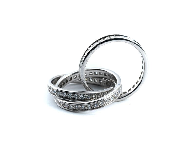 Trinity-Ring von Cartier