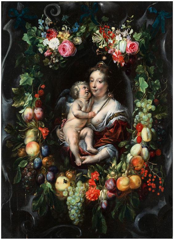Daniel Seghers, 1590 Antwerpen – 1661 ebenda, zug.