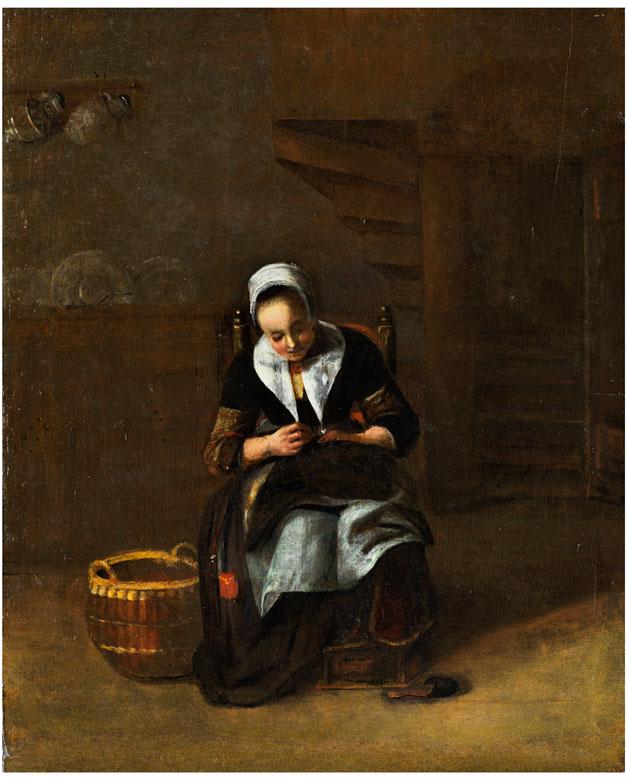 Nicolaes Maes, 1634 Dordrecht – 1693 Amsterdam, zug./ Art des