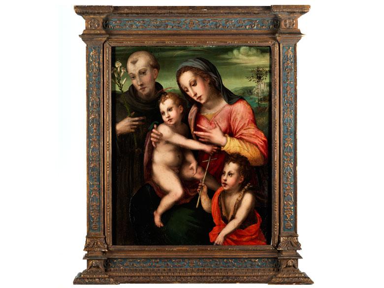 Il Puligo, eigentlich Domenico Bartolomeo Ubaldini, 1492 Florenz – bis nach 1527