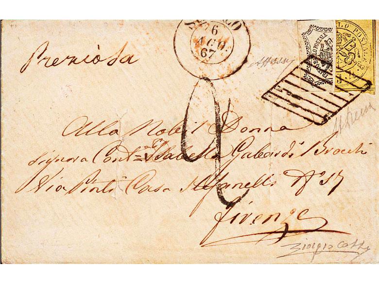 Briefmarke: Kirchenstaat