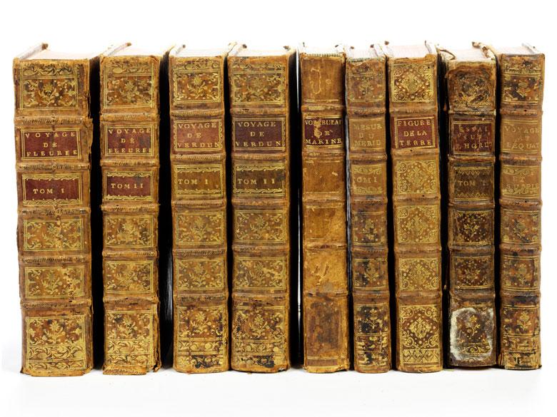 Sieben Werke in neun Bänden