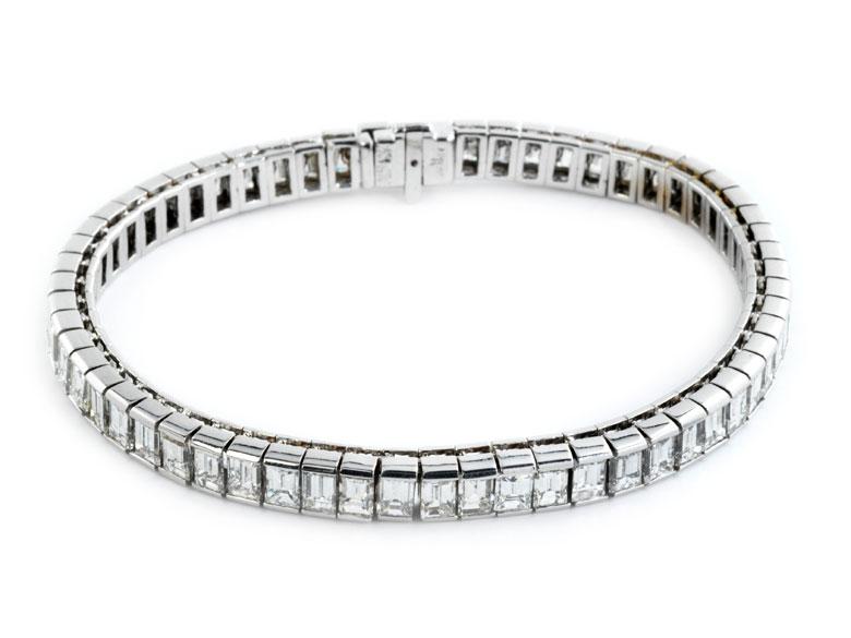 Diamant-Tennisarmband von Adler