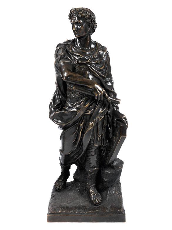 Bronzefigur Caesar