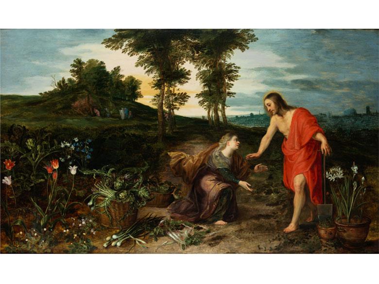 Jan Brueghel der Jüngere (1601 Antwerpen – 1678) und Mitarbeiter aus dem Kreis von Peter Paul Rubens (1577 – 1640)